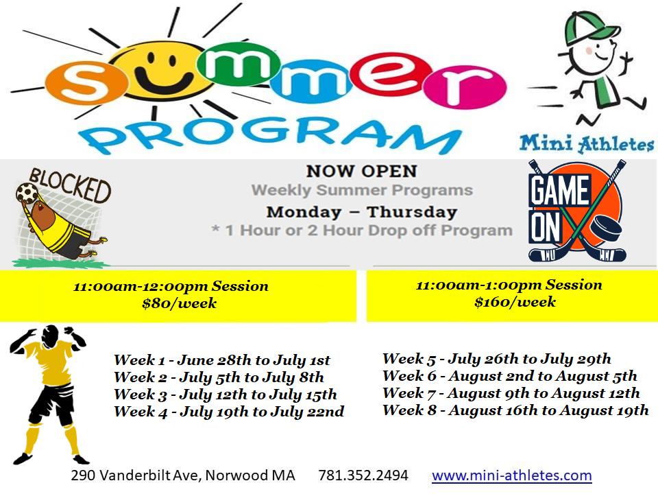 Summer MA Registration!